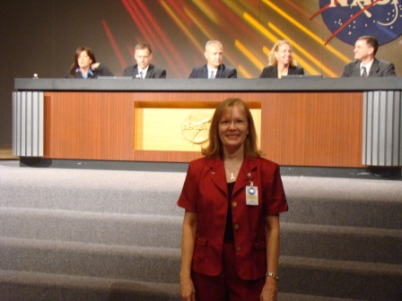 STS-135 Press Conference at JSC.