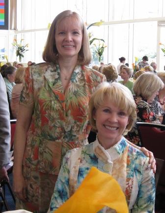 With Dr. Rhea Seddon.