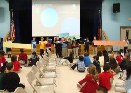Harvard Elementary third graders.