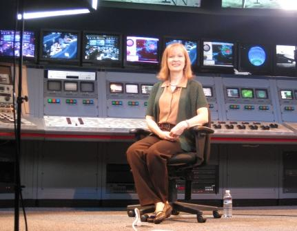 National Geographic School Publishing DVD filmed at Space Center Houston.