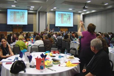 2011 SCBWI-Houston conference crowd.